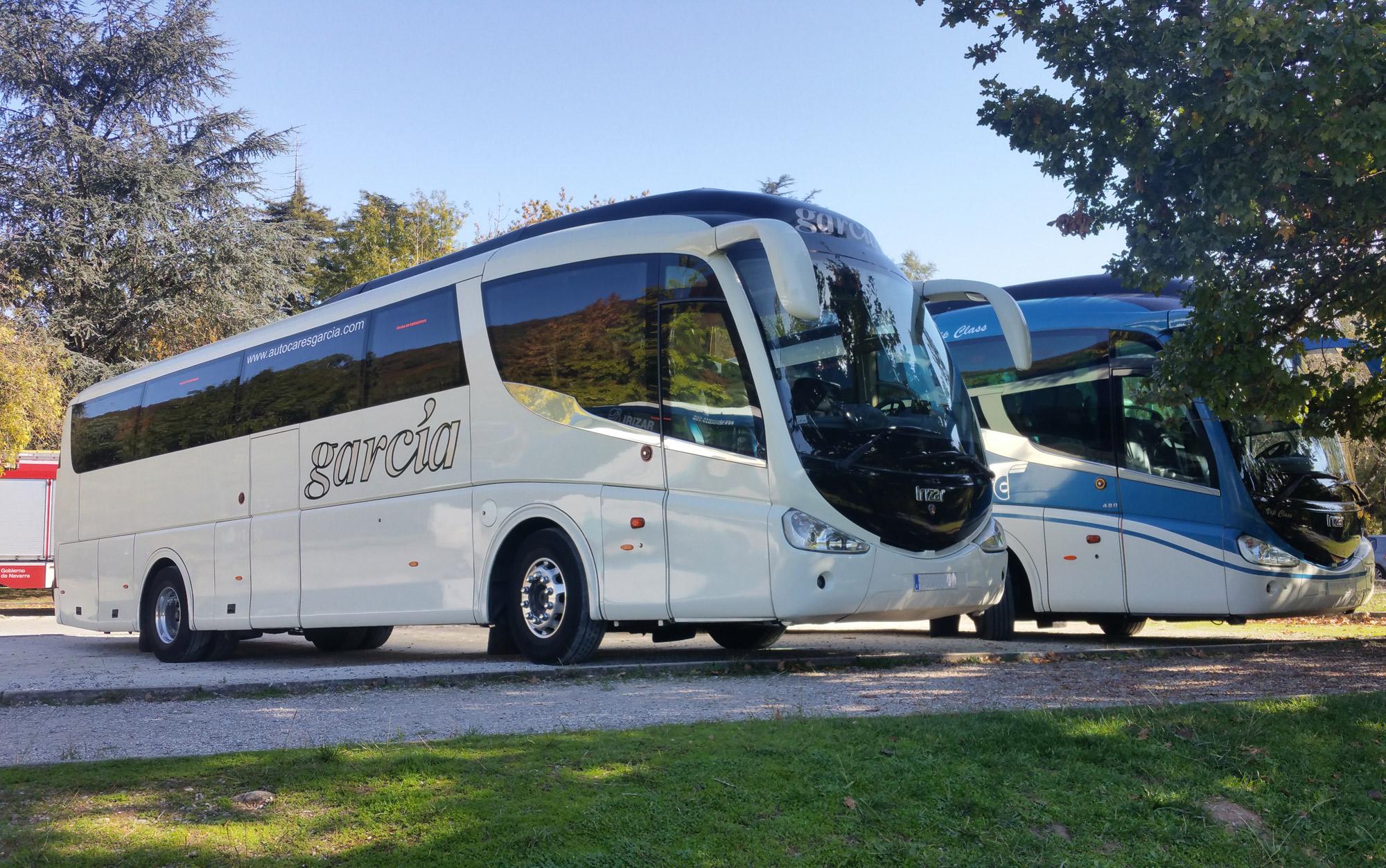 Alquiler de autobuses, microbuses y vehículos en Bilbao